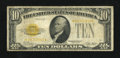 Small Size:Gold Certificates, Fr. 2400* $10 1928 Gold Certificate. Very Good.. ...