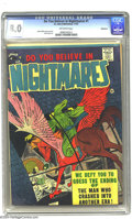 Silver Age (1956-1969):Horror, Do You Believe in Nightmares #1 Bethlehem pedigree (St. John, 1957)CGC VF 8.0 Off-white pages. Steve Ditko's man on a flyin...