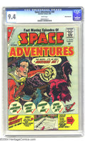 Silver Age (1956-1969):Science Fiction, Space Adventures #30 White Mountain pedigree (Charlton, 1959) CGCNM 9.4 White pages. The number of comic books of Charlton ...