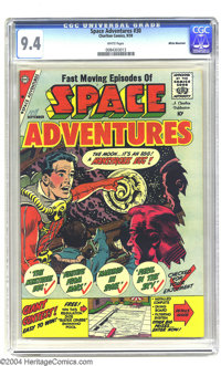Space Adventures #30 White Mountain pedigree (Charlton, 1959) CGC NM 9.4 White pages. The number of comic books of Charl...