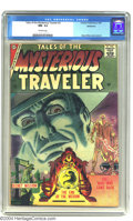 Silver Age (1956-1969):Horror, Tales of the Mysterious Traveler Bethlehem pedigree (Charlton,1957) CGC NM- 9.2 Off-white pages. Steve Ditko cover and art....