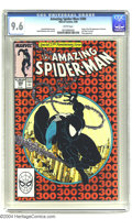 Modern Age (1980-Present):Superhero, Amazing Spider-Man #300 (Marvel, 1988) CGC NM+ 9.6 White pages.Origin and first full appearance of Venom. Last appearance o...