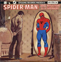 Memorabilia:Miscellaneous, Spider-Man Record Album Group (Marvel, 1966-76). This lot consists of an Amazing Spider-Man #1 reprint from the Golden R... (Total: 2 items Item)