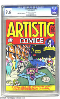 Artistic Comics #nn (Golden Gate, 1973) CGC NM+ 9.6 Off-white to white pages. This is the comic that gave the general pu...