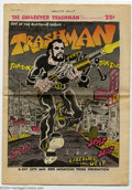 Silver Age (1956-1969):Alternative/Underground, The Collected Trashman #1 (Fat City and Red Mountain Tribe, 1969)Condition: VF-. Spain Rodriguez shows why he is one of the...