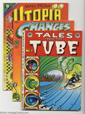 Golden Age (1938-1955):Miscellaneous, Rick Griffin Miscellaneous Comics Group (Various, 1969-72) Condition: NM. A collection of comics from one of the most popula... (Total: 3 Comic Books Item)