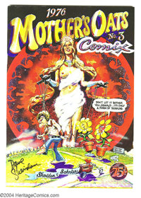 Mother's Oats #3 Fred Todd File Copy, Signed (Rip Off Press, 1977) Condition: NM-. Dave Sheridan was one of Underground'...