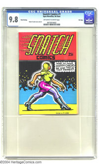 Snatch Comics #1 Third Printing, Don Donahue File Copy (Apex Novelties, 1968) CGC NM/MT 9.8 Off-white to white pages. Wo...