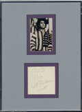 Silver Age (1956-1969):Alternative/Underground, Abbie Hoffman - Memorabilia Autograph (1988). A bold, ballpointsignature from 60s radical and organizer, Abbie Hoffman. He ...