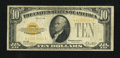 Small Size:Gold Certificates, Fr. 2400* $10 1928 Gold Certificate. Fine.. ...