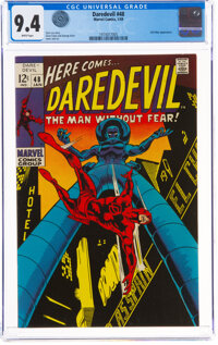 Daredevil #48 (Marvel, 1969) CGC NM 9.4 White pages