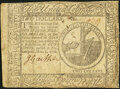 Colonial Notes:Continental Congress Issues, Continental Currency November 2, 1776 $2 Fine-Very Fine.. ...