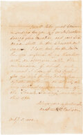 Autographs:U.S. Presidents, Dolley Madison Autograph Letter Signed. ...