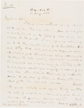 Autographs:U.S. Presidents, Rutherford B. Hayes Autograph Letter Signed. ...