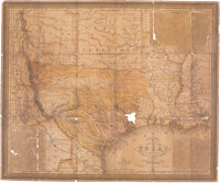 [Samuel Augustus Mitchell]. New Map of Texas with the Contiguous American & Mexican States