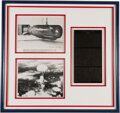 Autographs:Military Figures, Paul Tibbetts and Charles Albury Signed Photographs. ...