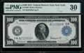 Large Size:Federal Reserve Notes, Fr. 1090 $100 1914 Federal Reserve Note PMG Very Fine 30.. ...