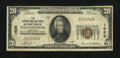 National Bank Notes:Maryland, Westminster, MD - $20 1929 Ty. 1 The Farmers & Mechanics NB Ch.# 1526. ...