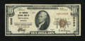 National Bank Notes:Missouri, Nevada, MO - $10 1929 Ty. 1 The Thornton NB Ch. # 9382. ...