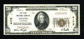 National Bank Notes:Colorado, Salida, CO - $20 1929 Ty. 1 The First NB Ch. # 4172. ...