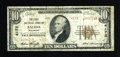 National Bank Notes:Colorado, Salida, CO - $10 1929 Ty. 2 The First NB Ch. # 4172. ...