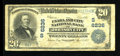 National Bank Notes:Tennessee, Johnson City, TN - $20 1902 Plain Back Fr. 661 The Unaka & CityNB Ch. # (S)6236. ...