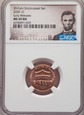2020 1C Shield, Early Release, MS69 Red NGC. NGC Census: (3/0). PCGS Population: (0/0)....(PCGS# 841151)