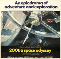 """2001: A Space Odyssey & Other Lot (MGM, 1968). Very Fine- on Linen. Six Sheets (2) (80"""" X 77"""" and 60""""..."""