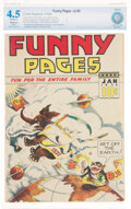 Golden Age (1938-1955):Miscellaneous, Funny Pages V2#5 (Comic Magazine, 1938) CBCS Restored VG+ ...