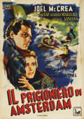 """Movie Posters:Hitchcock, Foreign Correspondent (United Artists, Post-War 1940s). Italian One Sheet (27.5"""" X 39""""). Alfred Hitchcock, master director o..."""