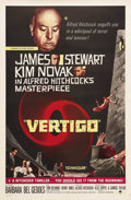 "Movie Posters:Hitchcock, Vertigo (Paramount, R-1961). International One Sheet (27"" X 41"")Many of the posters for Alfred Hitchcock's films lack decen..."