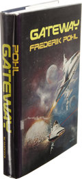 Books:Fiction, Frederik Pohl: Gateway. (New York: St. Martin's Press, 1977), first edition, 313 pages, jacket design by Boris Vallejo, ...