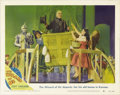 """Movie Posters:Musical, The Wizard of Oz (MGM, R-1949). Lobby Card (11"""" X 14""""). This is the only card from this reissue set to picture Frank Morgan ... (Total: 501 Item)"""