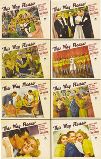 "This Way Please (Paramount, 1937). Lobby Card Set of 8 (11"" X 14""). Betty Grable was an up-and-coming actress..."