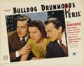 """Movie Posters:Mystery, Bulldog Drummond's Peril (Paramount, 1938). Lobby Card (11"""" X 14""""). The list of the actors who played detective Bulldog Drum..."""