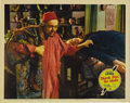 """Movie Posters:Mystery, Think Fast, Mr. Moto (20th Century Fox, 1937). Lobby Cards (3) (11""""X 14""""). This was the first in the series of detective my... (Total:3 Item)"""