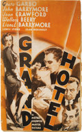 Movie Posters:Drama, Grand Hotel (MGM, 1932). Pressbook (Multiple Pages). Greta Garboand John Barrymore star in this Oscar-winning pre-Code film...
