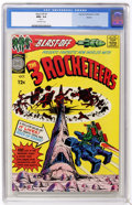 Silver Age (1956-1969):Science Fiction, Blast-Off #1 Boston pedigree (Harvey, 1965) CGC NM+ 9.6 Off-whitepages....
