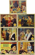 """Movie Posters:Drama, Servants' Entrance (Fox, 1934). Title Lobby Card (11"""" X 14"""") andLobby Cards (6) (11"""" x 14""""). Heiress Janet Gaynor is under ...(Total: 7 Items)"""