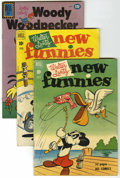 Golden Age (1938-1955):Miscellaneous, Dell Walter Lantz Group (Dell, 1940's-50's) Condition: Average VG.... (Total: 61)