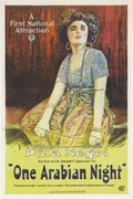"Movie Posters:Drama, One Arabian Night (First National, 1921). One Sheet (27"" X 41"").Filmed in Germany in 1920 as ""Sumurun,"" Ernst Lubitsch not ..."