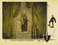 "Robin Hood (United Artists, 1922). Half Sheet (22"" X 28""). This was Douglas Fairbanks' biggest and most lavish..."