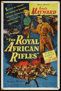 "Movie Posters:Adventure, The Royal African Rifles (Allied Artists, 1953). One Sheet (27"" X41""). Adventure. Starring Louis Hayward, Veronica Hurst, M..."