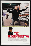 "Movie Posters:Crime, The French Connection (20th Century Fox, 1971). One Sheet (27"" X41""). Crime. Starring Gene Hackman, Fernando Rey, Roy Schei..."