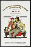 "Movie Posters:Crime, The Sting (Universal, 1974). One Sheet (27"" X 41""). Crime. Starring Paul Newman, Robert Redford and Robert Shaw. Directed by..."