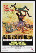"""Movie Posters:Science Fiction, Battle for the Planet of the Apes (20th Century Fox, 1973). OneSheet (27"""" X 41""""). Science Fiction. Starring Roddy McDowall,..."""