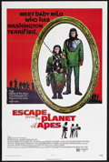 "Movie Posters:Science Fiction, Escape from the Planet of the Apes (20th Century Fox, 1971). OneSheet (27"" X 41""). Science Fiction. Starring Roddy McDowall..."