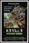 "Movie Posters:Science Fiction, Soylent Green (MGM, 1973). One Sheet (27"" X 41""). Science Fiction.Starring Charlton Heston, Edward G. Robinson, Leigh Taylo..."