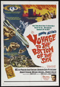 "Movie Posters:Adventure, Voyage to the Bottom of the Sea (20th Century Fox, 1961). One Sheet(27"" X 41""). Sci-Fi Adventure. Starring Walter Pidgeon, ..."