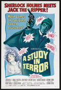 """Movie Posters:Crime, A Study in Terror (Columbia, 1966). One Sheet (27"""" X 41""""). Mystery. Starring John Neville, Donald Houston, John Fraser, Anth..."""